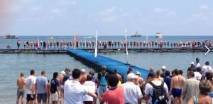 pontoon start