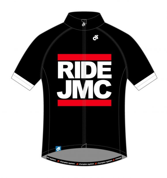 Ride JMC Jersey Black Front