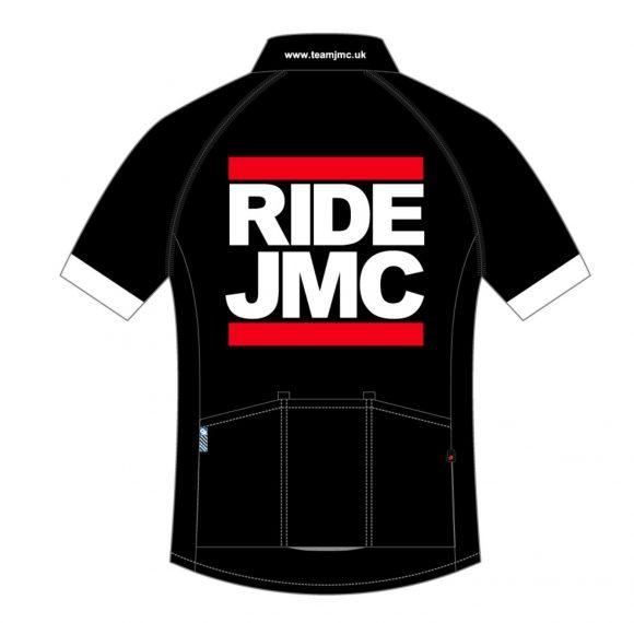 Ride JMC Jersey Black Rear