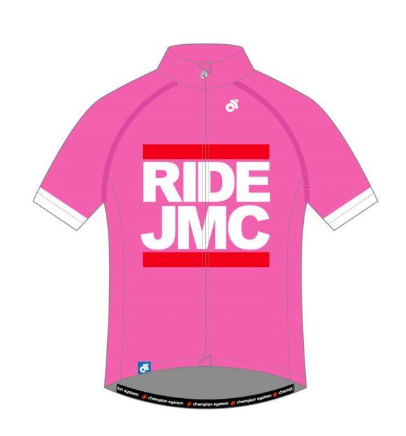 Ride JMC Jersey Pink Front