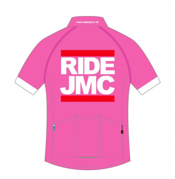 Ride JMC Jersey Pink Rear