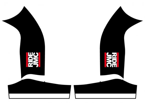 black bib shorts sides